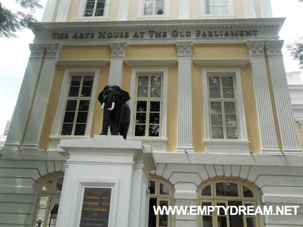 싱가포르 여행 - 옛 국회 아트 하우스 Old Parliament House