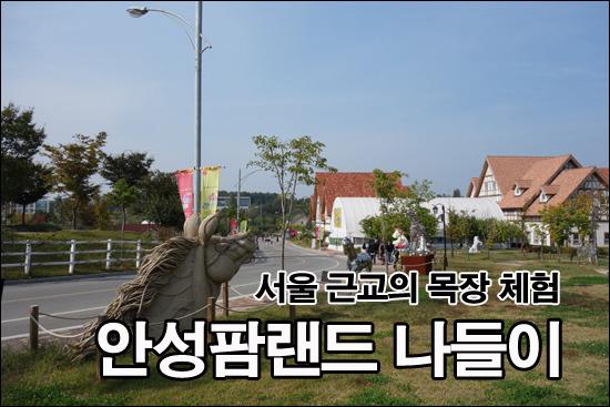 서울 근교의 목장 체험, 안성팜랜드 나들이