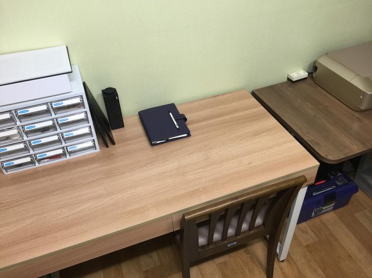 빌노트 깨끗한 책상