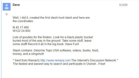 <sci.geo.satellite-nav 뉴스그룹에 저장되어 있는 Dave Ulmer님의 원래 글.>