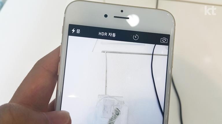 아이폰 6 플러스 카메라 대기화면