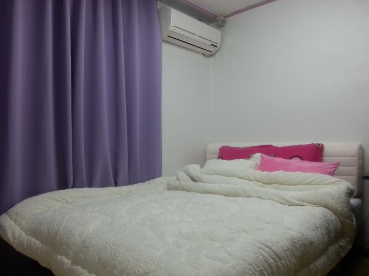 침실 인테리어 완성
