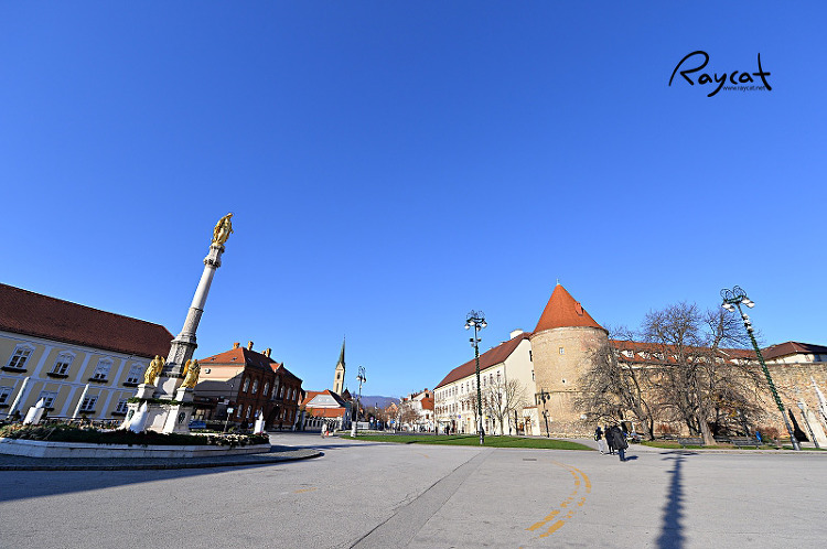 자그레브 대성당 앞 광장