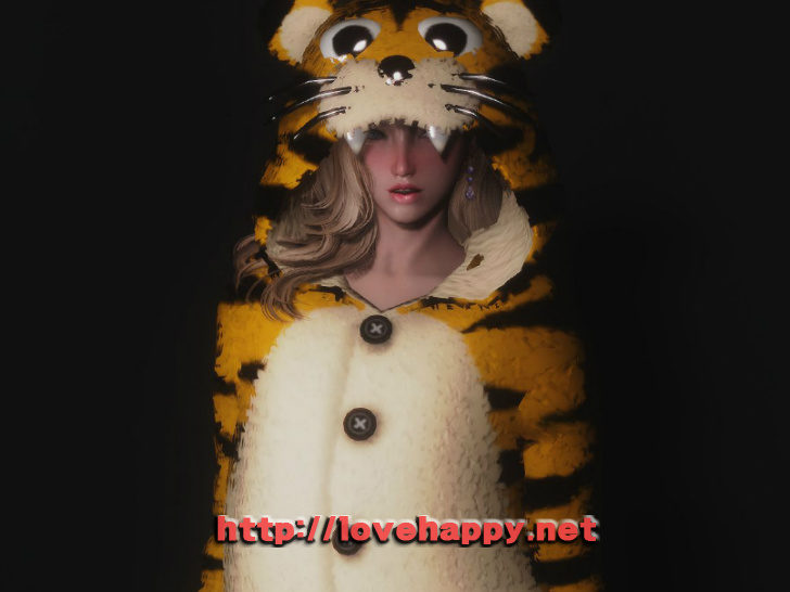 스카이림 의상 - 동물 의상 animal pajama clothes skyrim mod 001