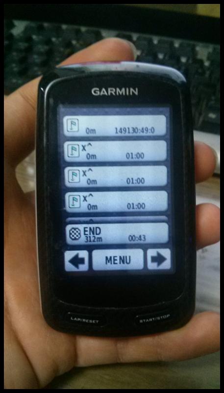 GPS OFF시 웨이포인트 정보 표시