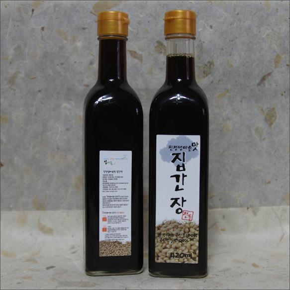 친정엄마 손맛 집간장 7,000원.