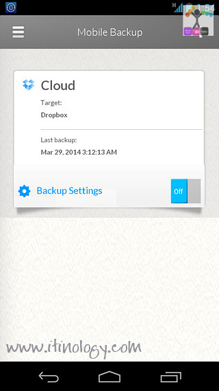 Seagate Dashboard and Backup APP