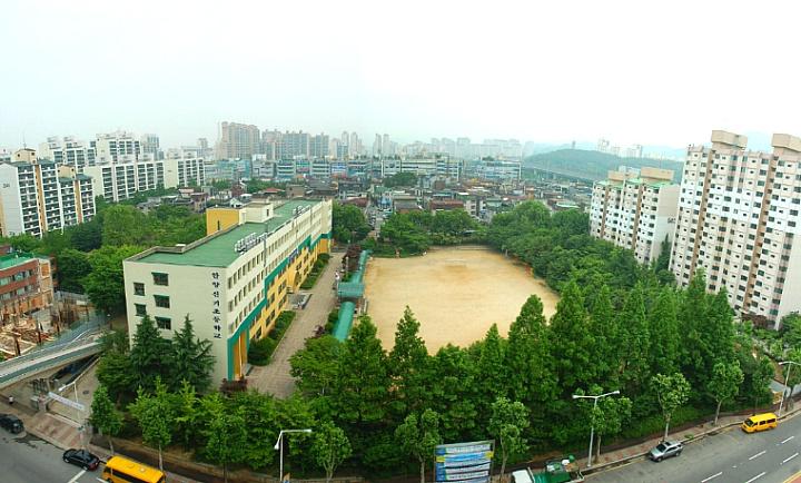 신기초등학교 학교숲