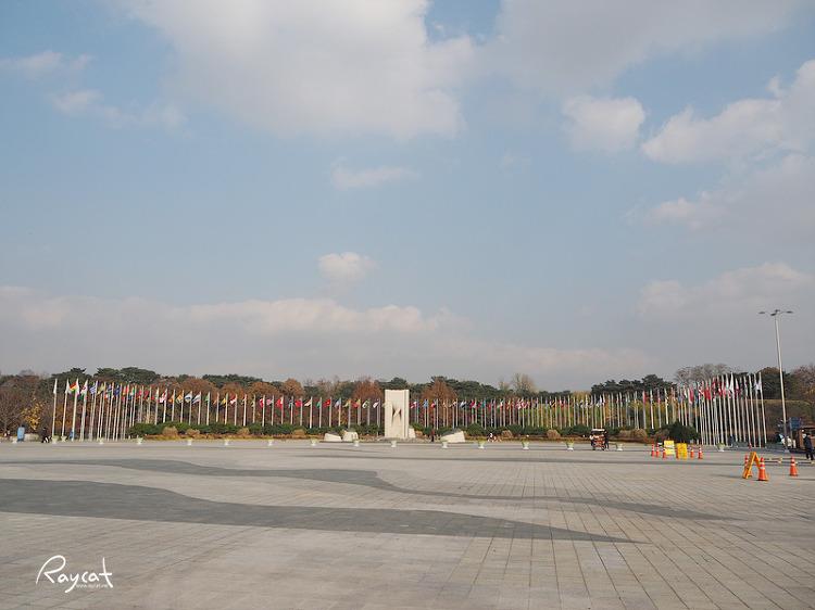 올림픽공원 만국기 광장