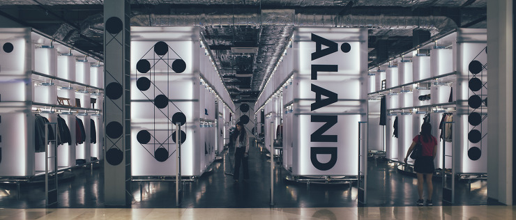 ▲가장 최근에 오픈한 스타필드 하남 ALAND