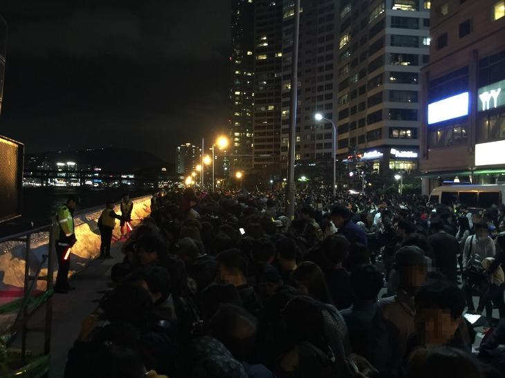 부산 불꽃축제 마린시티