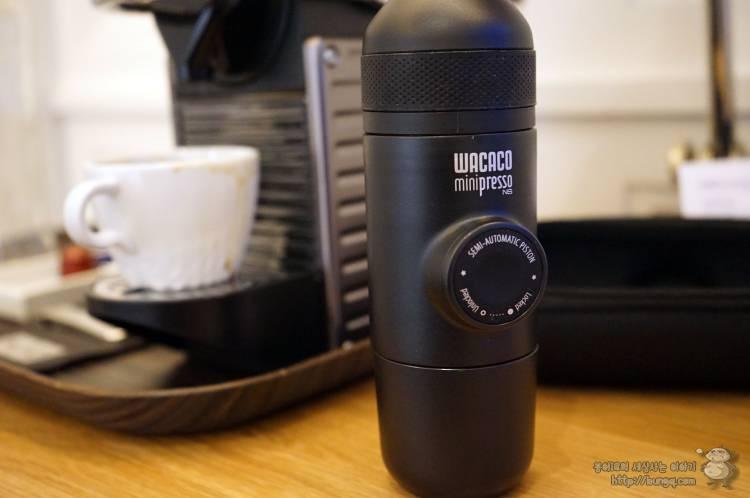 휴대용, 커피머신, 캡슐커피, 와카코, wacaco, 후기, 사용법, 캡슐