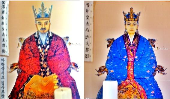 김수로왕과 허황후