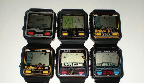 카시오 게임시계 Casio Game Watch