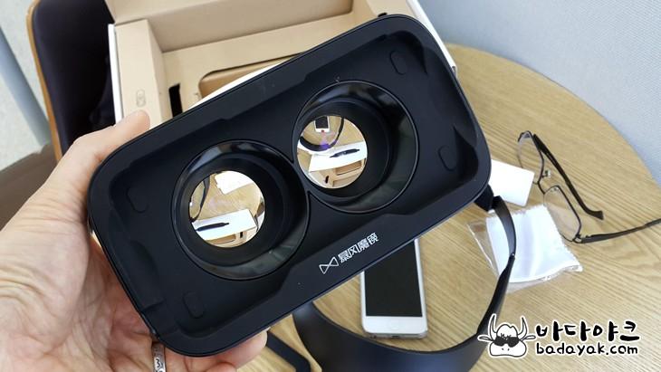 상 현실 VR 기기 폭풍마경4와 VR 디클 비교