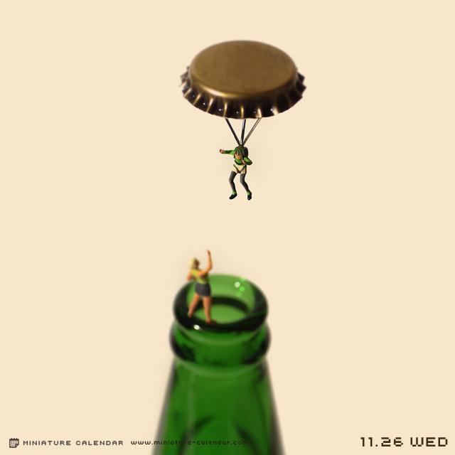 'parachute'