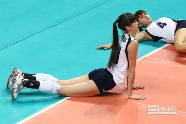 카자흐스탄 사비나 알틴베코바 미녀 배구선수 퇴출위기