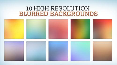 10 가지 무료 고화질 블러 백그라운드(배경) 이미지 - 10 Free High Resolution Blurred Backgrounds
