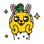 카카오톡 노란색 캐릭터
