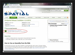 DotSpitial 설치 - 다운로드