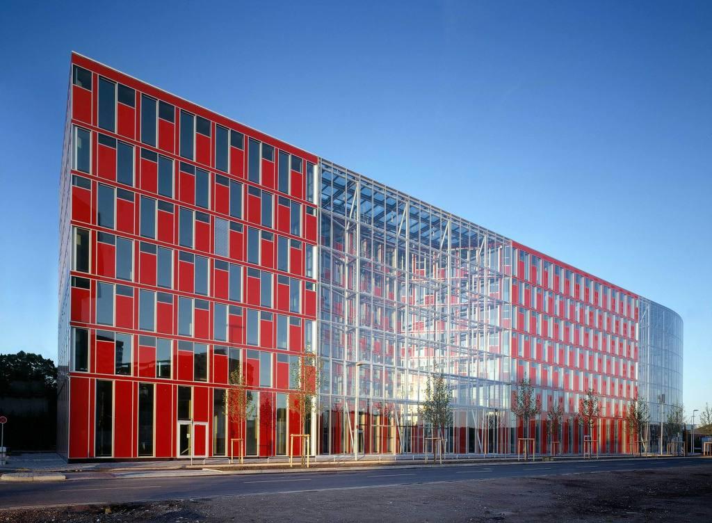 *파사드 디자인 [ Gatermann + Schossig ] Capricorn House Medienhafen Düsseldorf