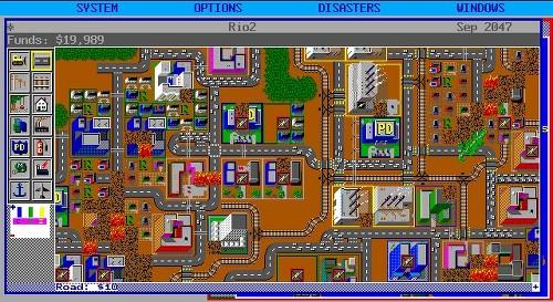 심시티 Simcity 1989