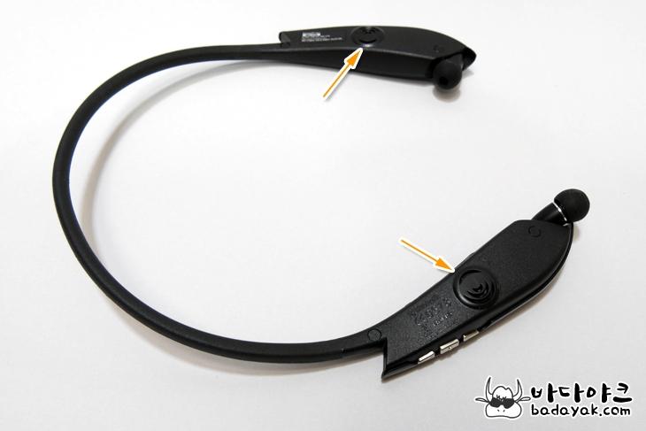 외부 스피커 LG 톤 플러스 스튜디오(HBS-W120) 넥밴드 형 블루투스 헤드셋