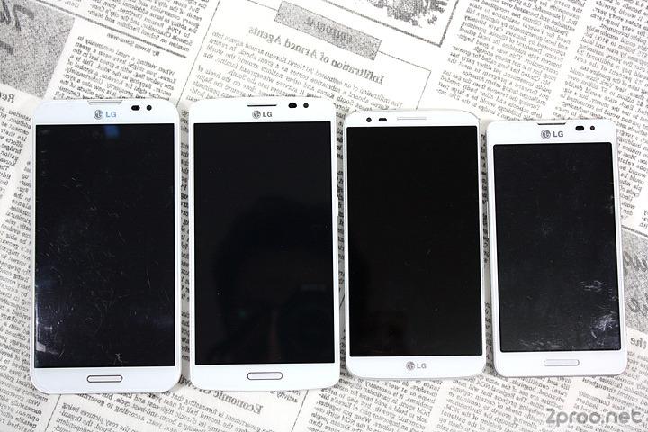 옵지프로, 엘지 Gx, LG G2, 옵티머스 LTE3 비교