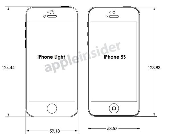 아이폰5S 와 저가형 아이폰 디자인 도면 유출, 어떤 모습?
