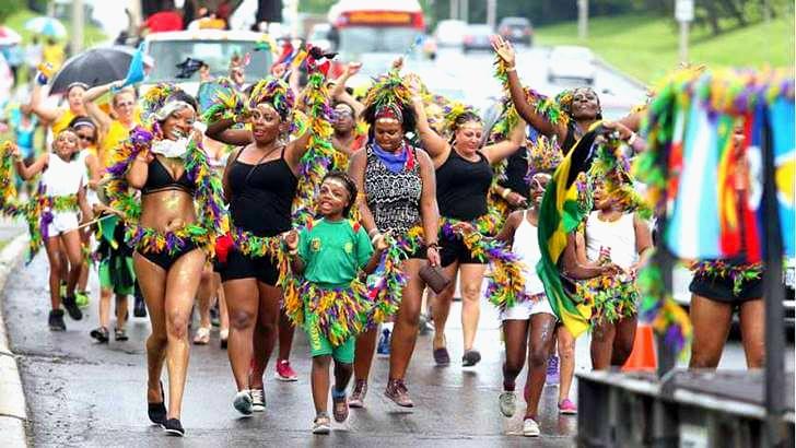 카리브 해 민족 축제입니다