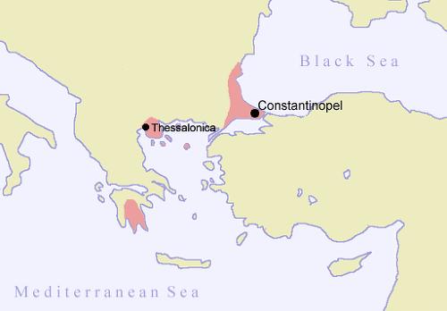 비잔틴제국 최후의 영토