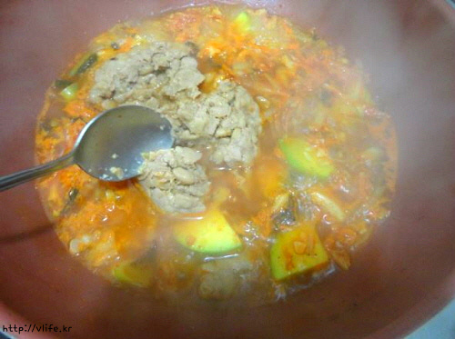 청국장 찌개 끓이는법