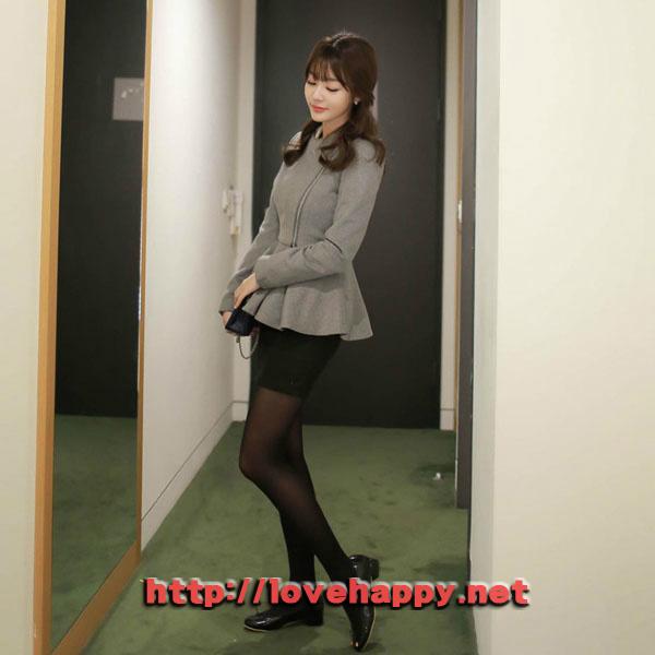 여성패션 자켓 사선지퍼 클로징으로 스타일리시 004