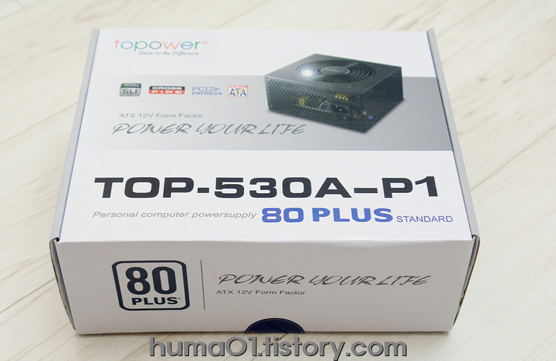 TOPOWER TOP-530A-P1 ATX파워서플라이