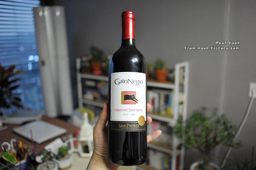 [칠레 와인, 레드와인] 산 페드로, 가또 네그로 까베르네 소비뇽 [San Pedro, Gato Negro Cabernet Sauvignon, Red wine]