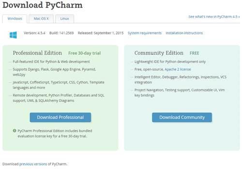 Download PyCharm - Windows 무료 버전