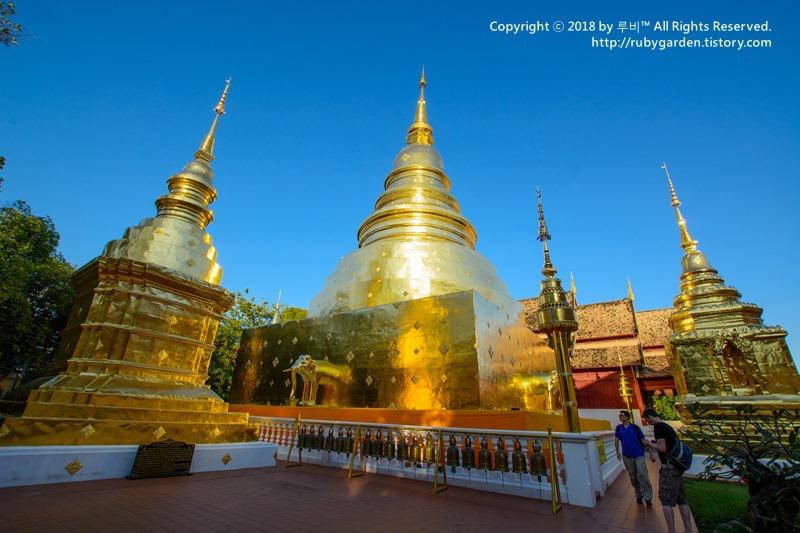 태국 치앙마이 여행 / 황금 불탑이 있는 사원 '왓 프라 싱'(Wat Phra Singh)