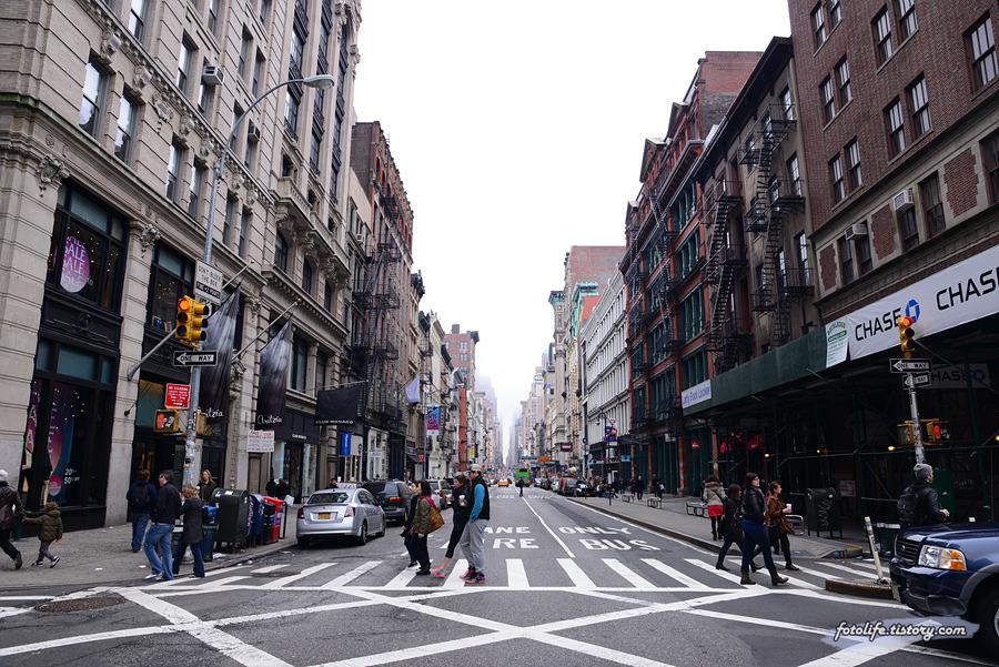 [미국/뉴욕] 소호(SOHO) 거리를 거닐다