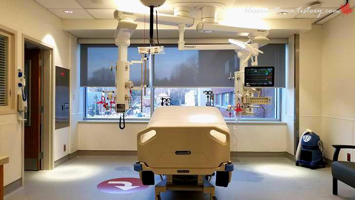 중환자실입니다
