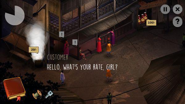 미싱 missing - 인도의 인신매매 현실 간접 체험 모바일 게임
