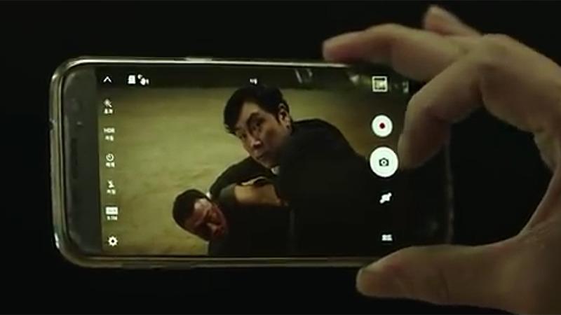 사진: 격투를 벌이게 되는데, 영화 보안관 줄거리에서 첫번째 대결이다.