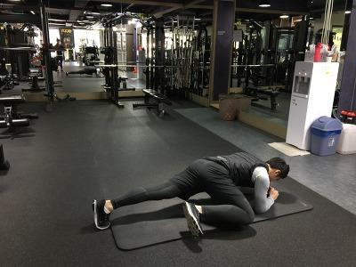 스파이더맨 플랭크(Spider man Plank)