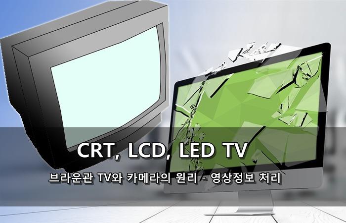 브라운관 TV, LCD, LED, 카메라의 원리 - 영상정보 처리