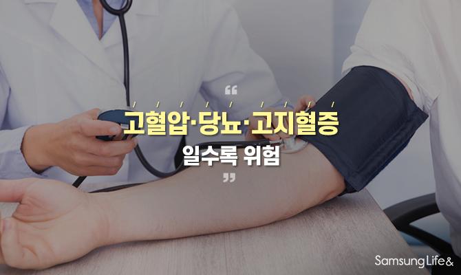 고혈압, 당뇨, 고지혈증일수록 심근경색 위험