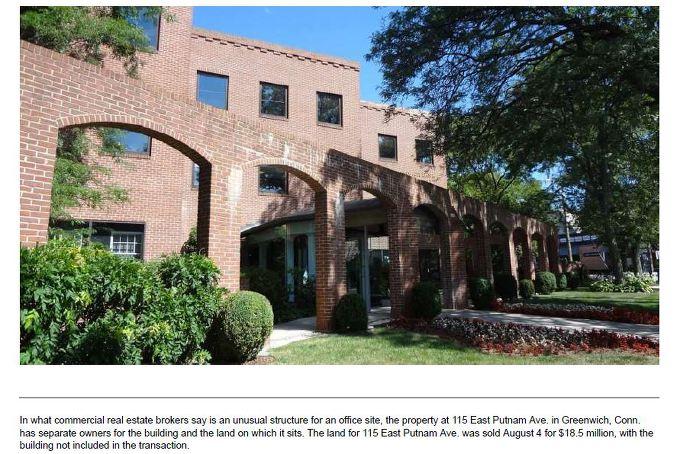 2016년 김형권씨가 매니저로 등록된 한 법인이 1850만달러에 매입한 부동산 - 건물은 타인의 소유이며 부지만 매입했다