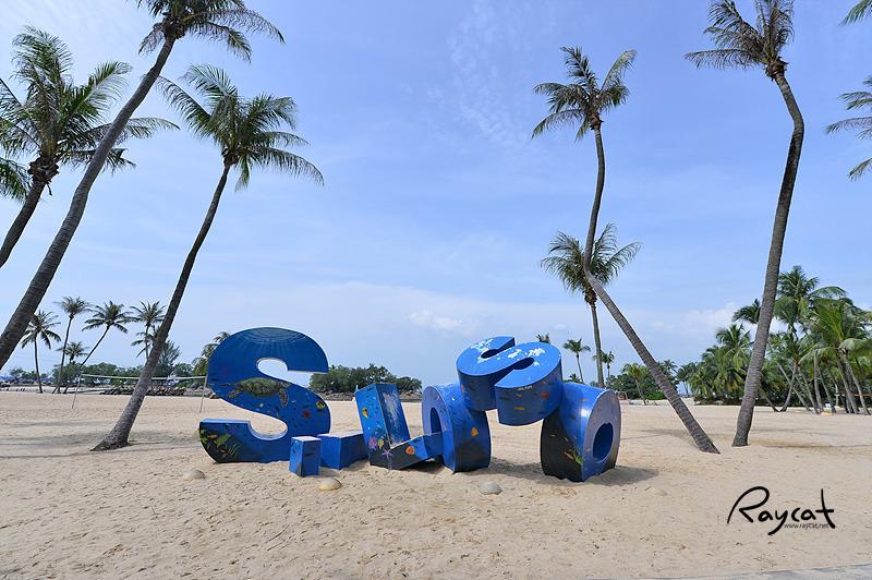 싱가포르 센토사 다른 매력 3대 해변을 걸어보기