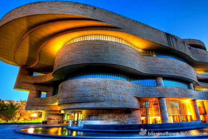 미국 워싱턴 D.C. 아메리칸 인디언 박물관입니다