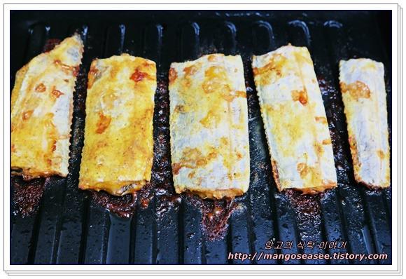 비린내 없이 굽는 오븐 갈치카레구이