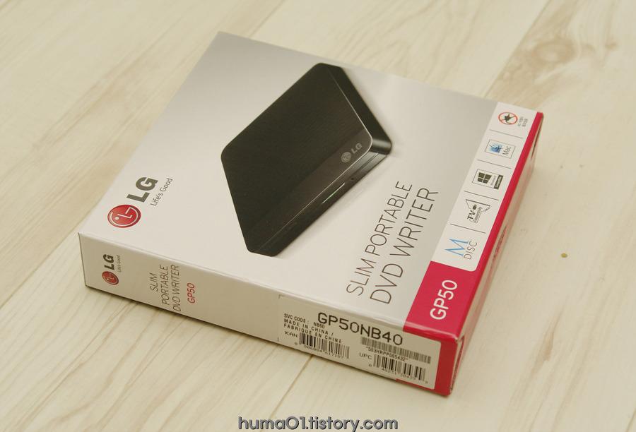LG GP50NB40 포터블 DVD WRITER