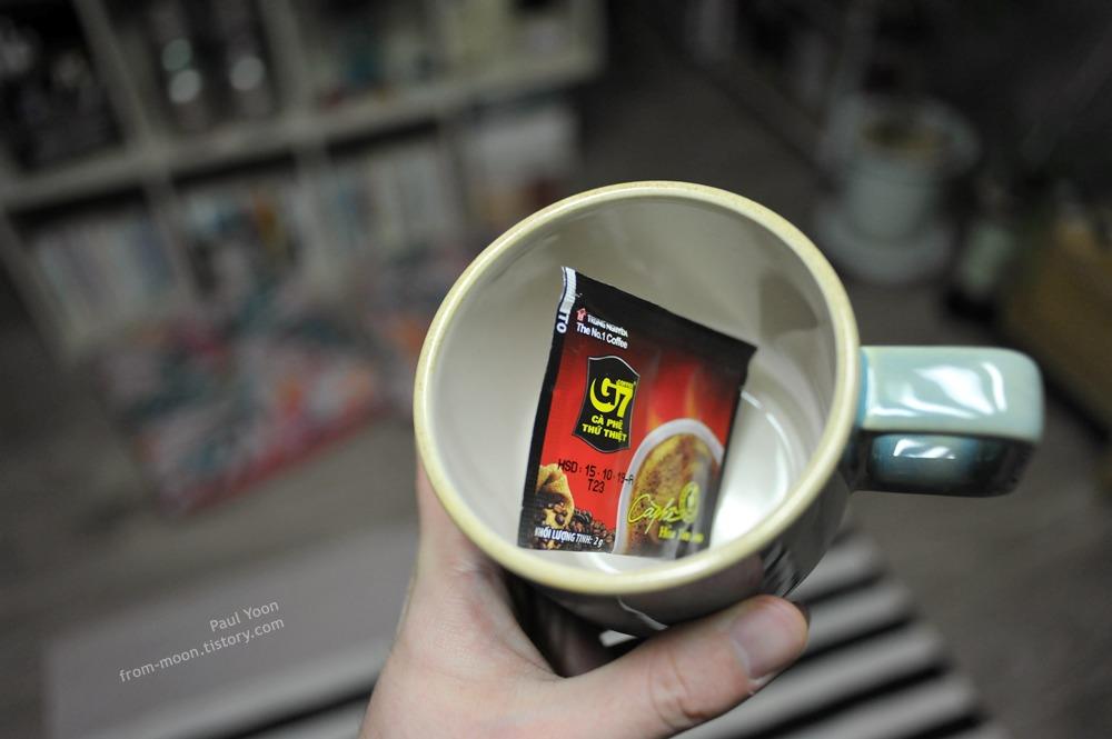 쓴맛의 G7 블랙 커피 (G7 인스턴트 커피 / 베트남 커피 / G7 Coffee)